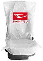 Чехлы накидки 400 шт. на  сидения  полиэтиленовые,  одноразовые  с логотипом  DAIHATSU
