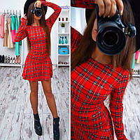 Купить красивое, стильное платье в клетку