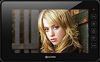 Домофон видеомонитор сенсорный с памятью QV-IDS4724 BLACK