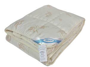 """Одеяло Leleka-Textil """"Овечья шерсть"""" весна-осень 140*205, шерсть 100%, 1266, фото 2"""
