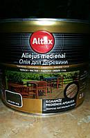 Декоративное защитное масло ALTAX на тунговой основе 2,5л.