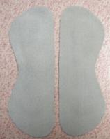 Протектор вкладыш в обувь самоклеящийся (силикон замша) пара