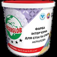 Краска интерьерная акриловая для стен и потолка Anserglob 4,2 кг