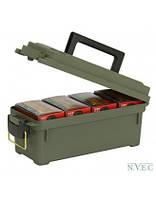 Ящик Plano для гладкоствольных патронов на 4 пачки, водозащищенный
