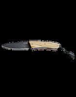 Нож LionSteel Opera лезвие 74 мм, дамаск, рукоять - оливковое дерево, в деревянной коробке