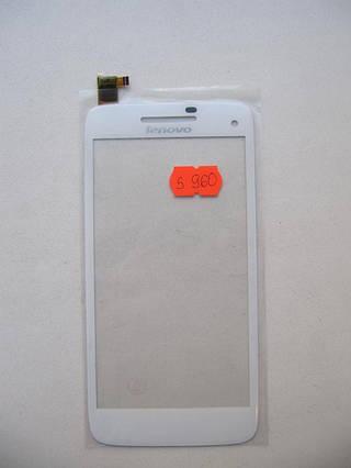 Сенсор тачскрин Lenovo S960 белый