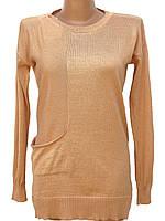 Трикотажный пуловер прямого кроя (в расцветках 48-50)