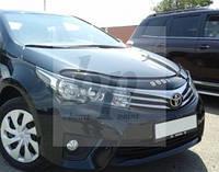 Дефлектор капота (мухобойка) Toyota corolla XI (тойота королла 2013+)