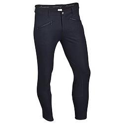 Штаны для конного спорта, брюки мужские Fouganza BASIC синие