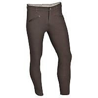 Штаны для конного спорта, брюки мужские Fouganza BASIC коричневые