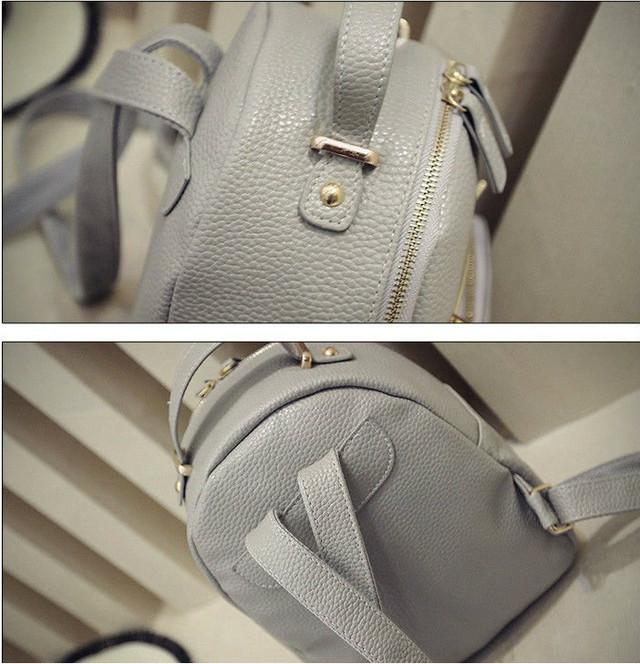 маленький рюкзак с ушками