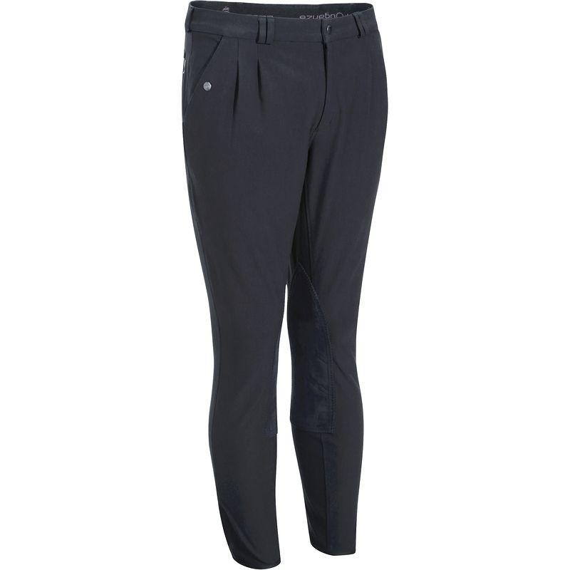 Штаны для конного спорта, брюки мужские Fouganza RIDING синие - priyatili.com в Львове