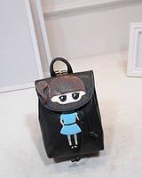 Молодежный рюкзак для стильных девушек 600.0, 4.0, Женский, Китай, Городской, черный