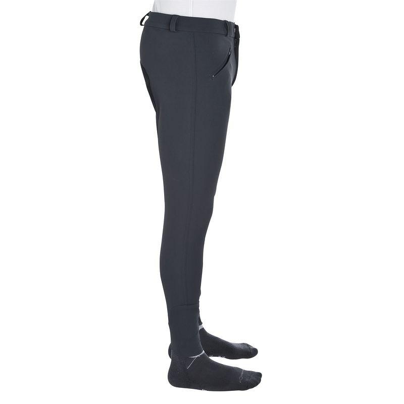 Штаны для конного спорта, брюки мужские Fouganza TRAINING темно- серые - priyatili.com в Львове