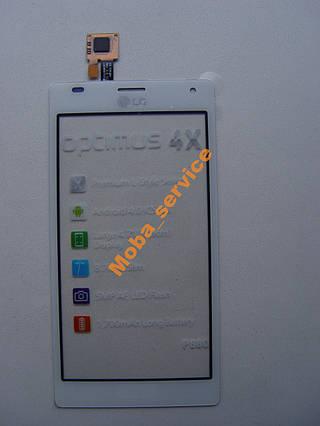 Тачскрин сенсор LG P880 Optimus 4X HD белый