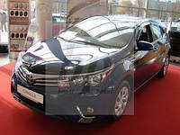 Дефлекторы окон SIM (ветровики) Toyota corolla XI (тойота королла 2013+)