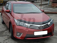 Дефлектор капота SIM (мухобойка) Toyota corolla XI (тойота королла 2013+)