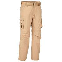 Штаны, брюки мужские туристические Quechua ARPENAZ 500 бежевые