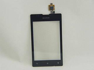 Сенсор тачскрин Sony C1503 / C1504 / C1505 / C1605/ C1604 Xperia E Dual черный