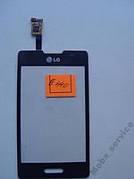 Сенсор тачскрин LG L4 II E440 черный