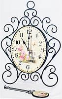Часы настенные металл с маятником 22-5