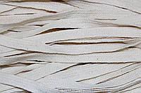 Шнур плоский ХБ 10мм (100м) молоко , фото 1