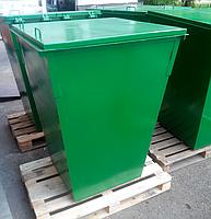 Контейнер для ТБО 0,75м. куб. с крышкой