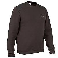 Кофта, свитер мужской Inesis Solognac TAIGA 300 черный