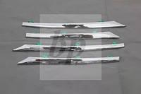 Хром накладки на решетку радиатора Toyota corolla XI (тойота королла 2013+)