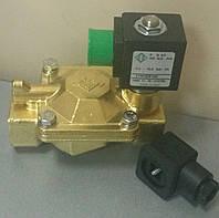 Электромагнитный клапан 21YW4ZOT130, Италия, непрямого действия NA (НО, нормально открытый), фото 1