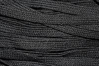 Шнур плоский ХБ 15мм (100м) черный, фото 1