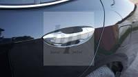 Хром накладки на дверные ручки Toyota corolla XI (тойота королла 2013+)