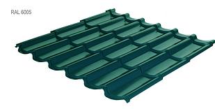 Металлочерепица RAUNI Standart  Polyester (глянец) Германия 0,45мм