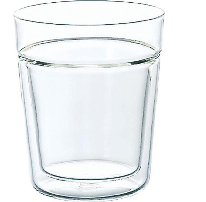 Стакан Hario Twin Rock Glass 260 ml (артикул TRG-260)
