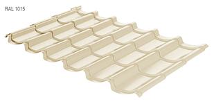 Металлочерепица RAUNI Mini Polyester (глянец) Турция 0,45мм