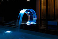 Водопад в бассейн