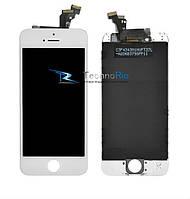 Модуль Дисплей  iPhone 6 Plus с тачскрином и рамкой, белый (оригинал)
