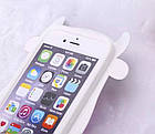 Чехол силиконовый3D Cartoon Cute White Cow Soft Silicon Case для iPhone 6/6S, фото 3