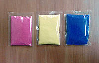Фасовка цветного песка, фото 1