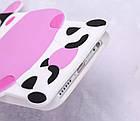 Чехол силиконовый 3D Cartoon Cute White Cow Soft Silicon Case для iPhone 6/6S Plus, фото 5