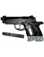 Пневматический пистолет CROSMAN C 31 (пистолет, пластик, 151 м/с, кобура, 18 зарядов)