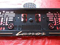 Рамка для номеров книжка LANOS, фото 1