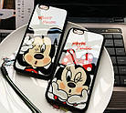 Чехол силиконовый 3D Mickey Mouse Kiss Glass Silicone Mirror Case для iPhone 5/5s , фото 2