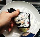 Чехол силиконовый 3D Mickey Mouse Kiss Glass Silicone Mirror Case для iPhone 5/5s , фото 6