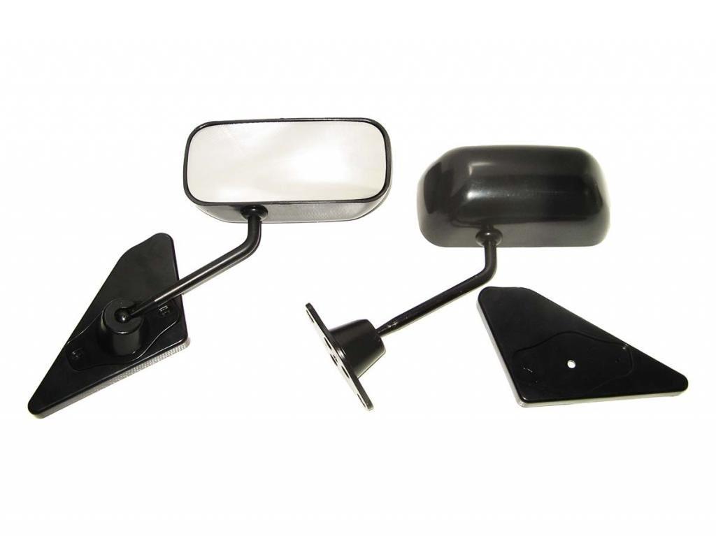 Зеркала наружные ВАЗ F1 Sport Black метал/черное