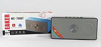 Компактная портативная колонка WS-768 bluetooth