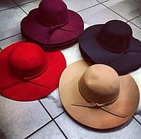 Женская модная фетровая шляпа (3 цвета), фото 1