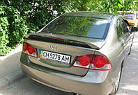 Honda Civic 4D спойлер средний со стопом LUX