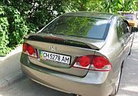 Honda Civic 4D 2006 спойлер средний со стопом