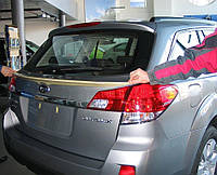 Subaru Outback задний спойлер LUX